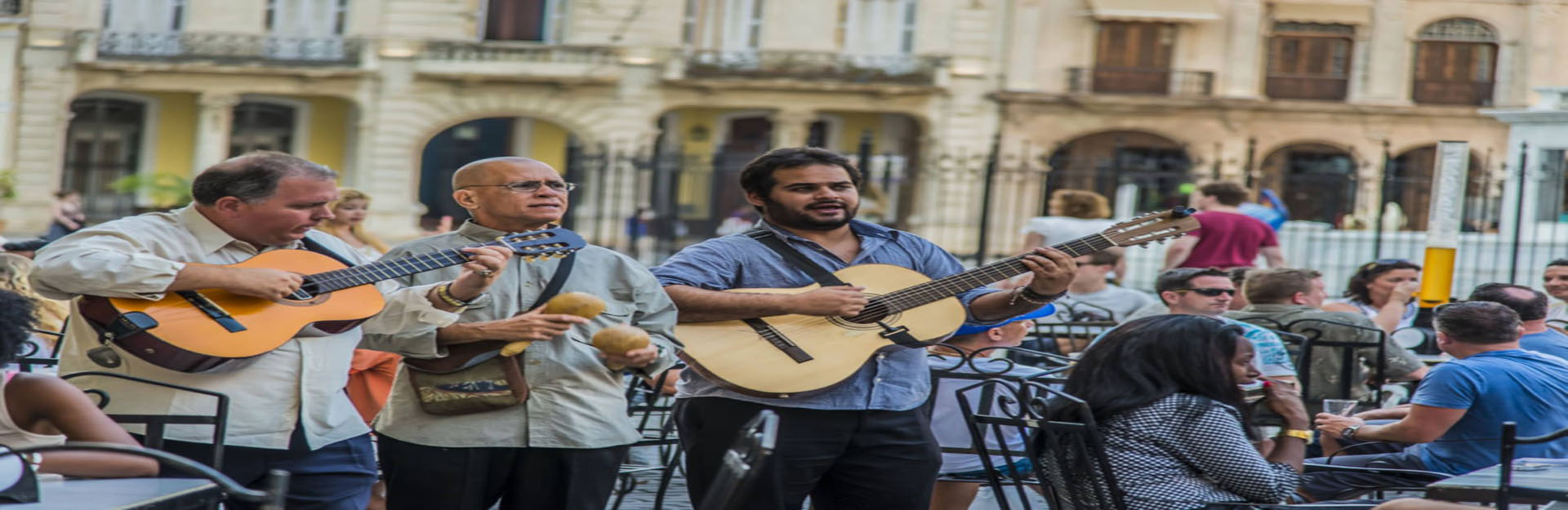 Traditional Cuban music in the Old Square, Cuba Travel
