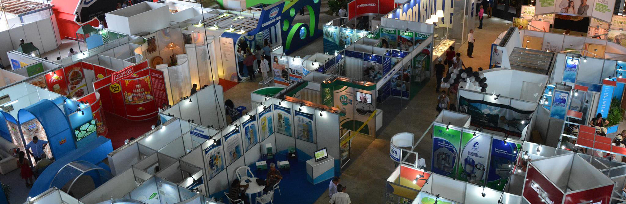 PABEXPO exhibition halls, Cuba Travel