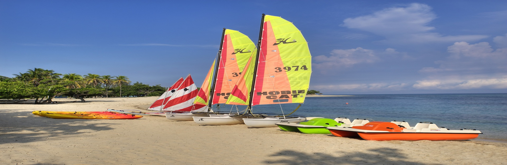 nautical activities in Jibacoa beach, Cuba Travel