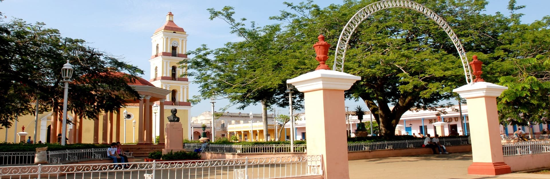 Central square, city of Remedios.
