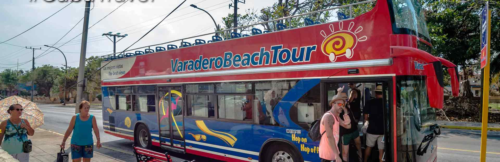 Bus Tour, Transporte, Varadero, Cuba Travel